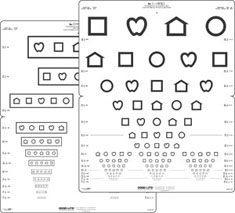 LEA Symbols 15 Line Distance Chart-0