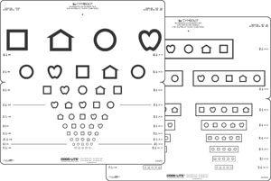 LEA Symbols 10 Line Distance Chart-0