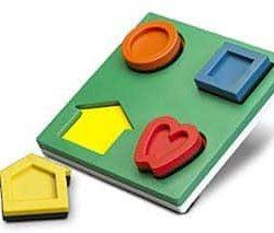 3-D Puzzle (LEA Symbols)-0