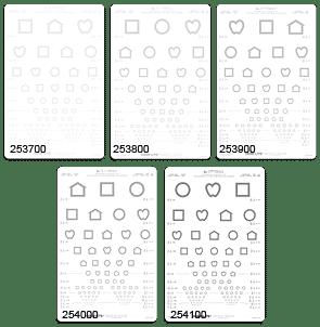 LEA Symbols 25% Low Contrast Chart-0