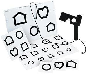 Colenbrander Low Vision Chart (LEA Symbols)-0