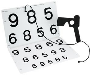 Colenbrander Low Vision Chart (LEA Numbers)-0