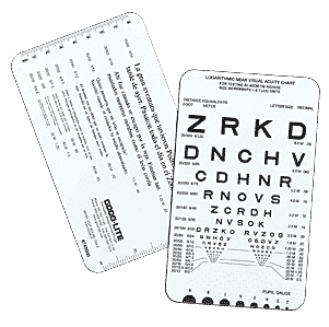 Spanish Near Vision Reading Card-0