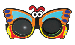 Butterfly Polarized Stereo Glasses-0