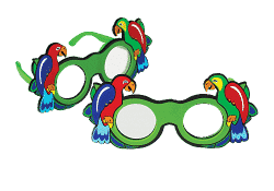 Parrot Frosted Occluder Glasses-0