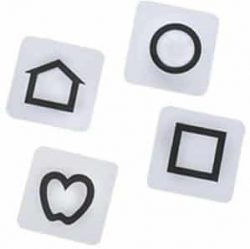 LEA Symbols Flash Card Replacement