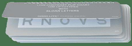 Sloan Letter Low Contrast Flip Chart-0